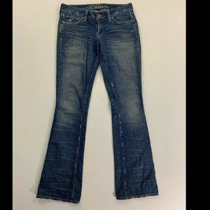 Lucky Brand Women's Blue Lola Boot Jeans Size 27